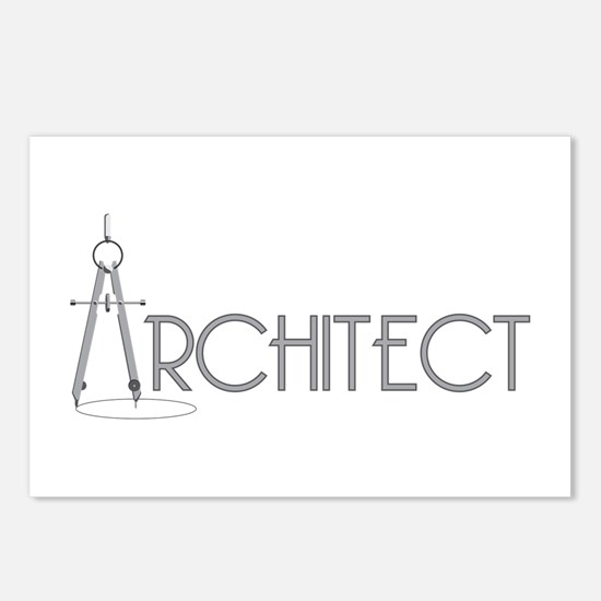 Architect Postcards (Package of 8)