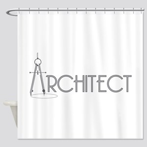 Architect Shower Curtain