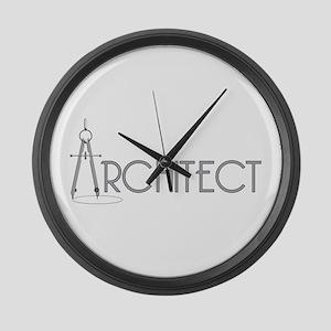 Architect Large Wall Clock