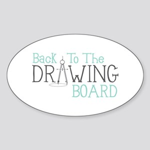 Back To The Drawing Board Sticker