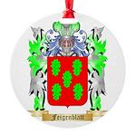 Feigenblatt Round Ornament