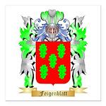 Feigenblatt Square Car Magnet 3