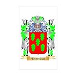 Feigenblatt Sticker (Rectangle 50 pk)