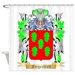 Feigenblatt Shower Curtain