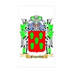 Feigenblat Sticker (Rectangle 50 pk)