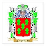 Feigenbaum Square Car Magnet 3