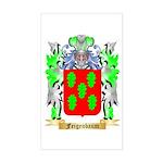 Feigenbaum Sticker (Rectangle)