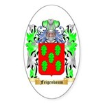 Feigenbaum Sticker (Oval 10 pk)