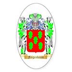 Feigenbaum Sticker (Oval 50 pk)