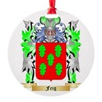 Feig Round Ornament