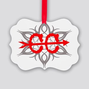Cross Country Tribal Ornament