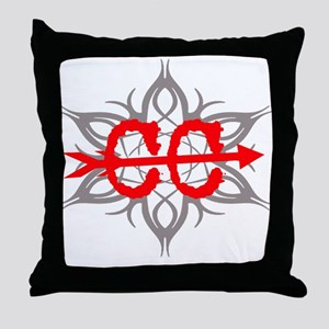 Cross Country Tribal Throw Pillow