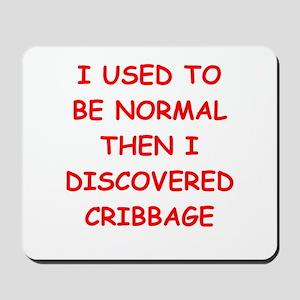 cribbage Mousepad