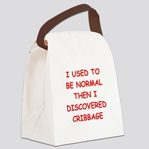 cribbage Canvas Lunch Bag