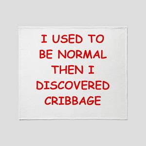 cribbage Throw Blanket
