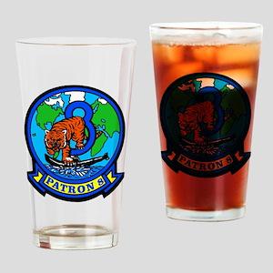 VP 8 Tigers (Blue) Drinking Glass