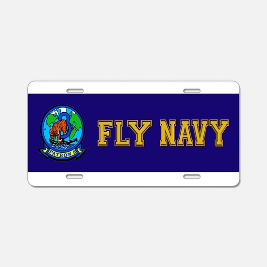 VP 8 Tigers (Blue) Aluminum License Plate