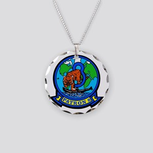 VP 8 Tigers (Blue) Necklace Circle Charm
