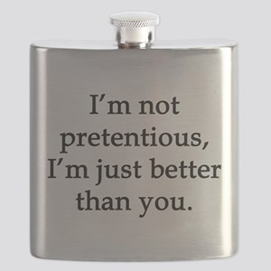Not Pretentious, Just Better Flask
