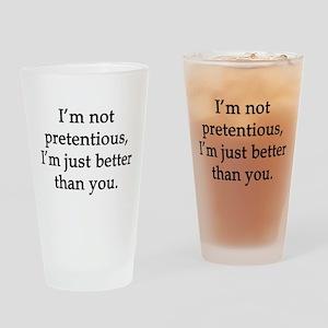 Not Pretentious, Just Better Drinking Glass
