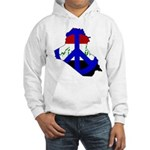 One Million Blogs for Peace Hooded Sweatshirt