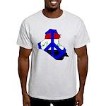 One Million Blogs for Peace Light T-Shirt