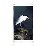 Great Egret Banner