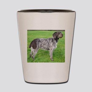 german wirehaired pointer liver full Shot Glass
