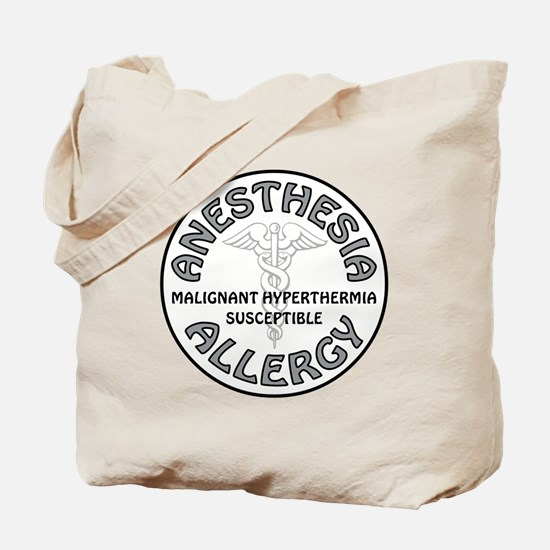 ANESTHESIA ALLERGY Tote Bag