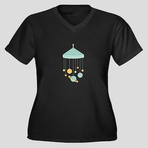 Solar System Mobile Plus Size T-Shirt