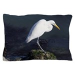 Great Egret Pillow Case