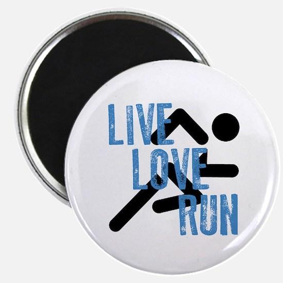 Live, Love, Run Magnets
