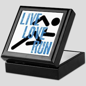 Live, Love, Run Keepsake Box