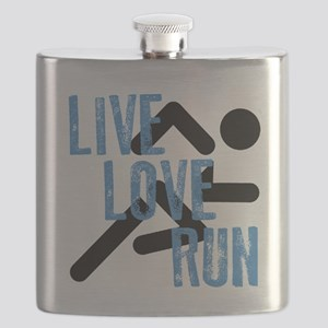 Live, Love, Run Flask