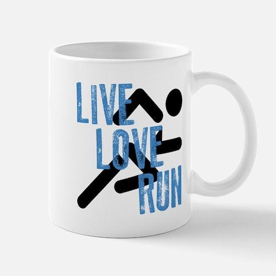 Live, Love, Run Mugs