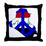 One Million Blogs for Peace Throw Pillow