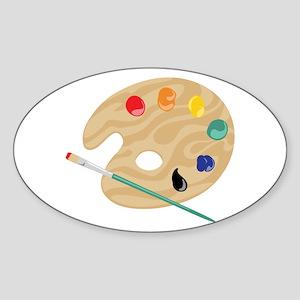 Painters Palette Sticker