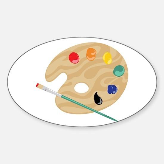 Painters Palette Stickers