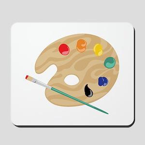 Painters Palette Mousepad