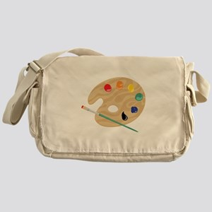 Painters Palette Messenger Bag
