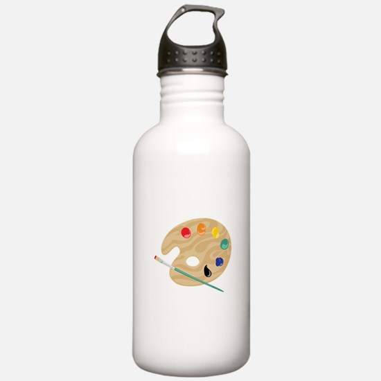 Painters Palette Water Bottle