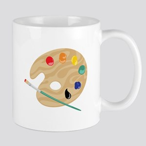 Painters Palette Mugs