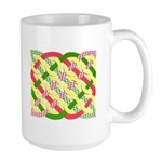 Celtic 12 Circles - Pastel Large Mug