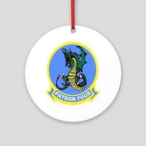 VP 4 Skinny Dragons Ornament (Round)