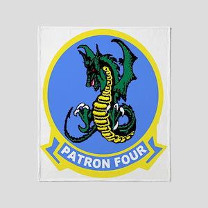 VP 4 Skinny Dragons Throw Blanket