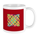 Celtic 12 Circles - Bright Mug