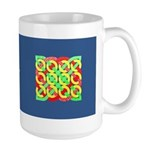 Celtic 12 Circles - Primary Pattern Large Mug