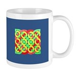 Celtic 12 Circles - Primary Pattern Mug