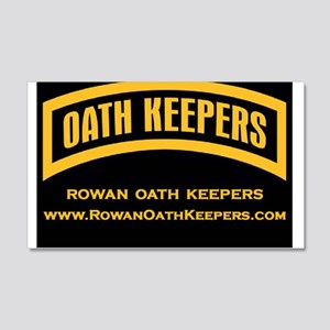 Rowan Oath Keepers Wall Decal