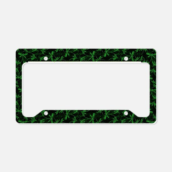 Dragonfly Flit Electric Green License Plate Holder
